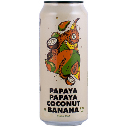 papaya papaya coconut banana]