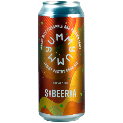 Sibeeria YUMMY mango with pineaple and passion fruit yummy pastry sour ale