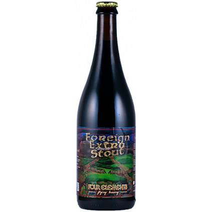 four elements foreign extra stout
