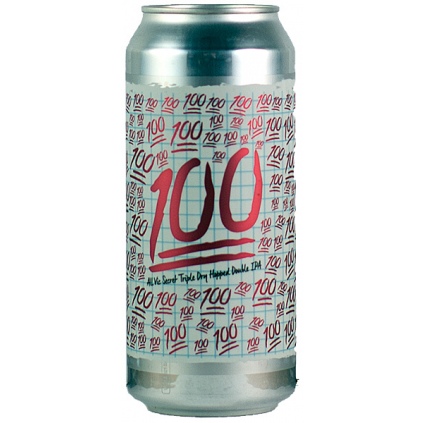 Burley Oak 100 Vic Secret 0,473l  Double IPA
