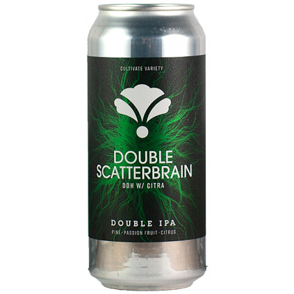 Bearded Iris Double Scatterbrain Citra 0,473l  Double New England IPA