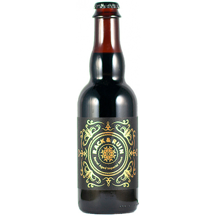 rack & ruin barrel aged imperial stout