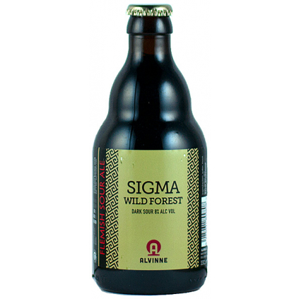 Alvinne Sigma Wild Forest 0,33l  Dark Sour Ale w/ Blackberries, Blueberries & Raspberries