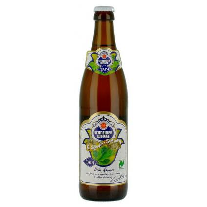 Schneider Weisse TAP 4 Mein Grünes 0,5l  Weissbier