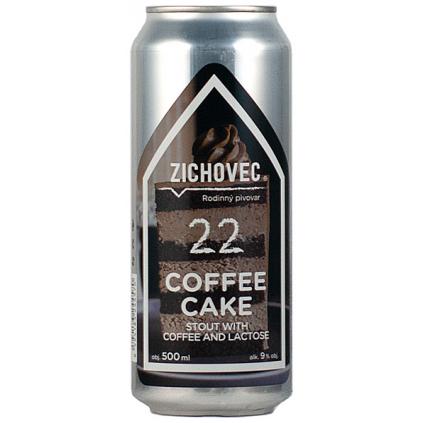 zichovec 22 coffe cake