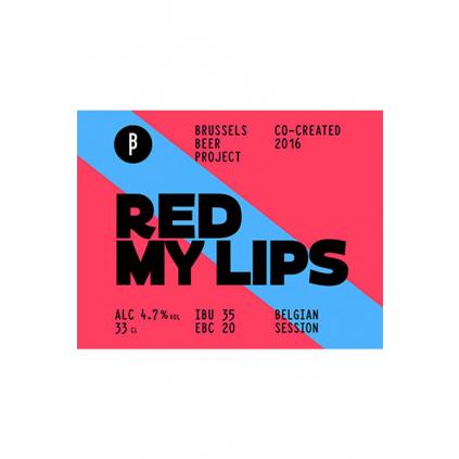 BrusselsBeerProject RedMyLips