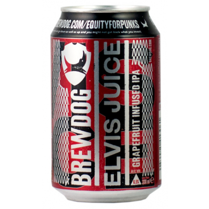 BrewDog ElvisJuice 330 can