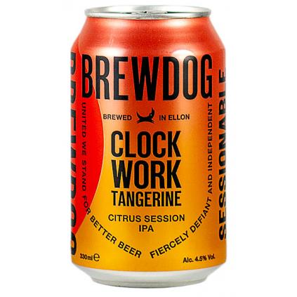 BrewDog ClockWorkTangerine IPA 330
