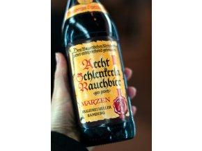 Schlenkerla Märzen 0,5  Nakuřované pivo