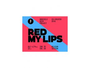 BrusselsBeerProject RedMyLips