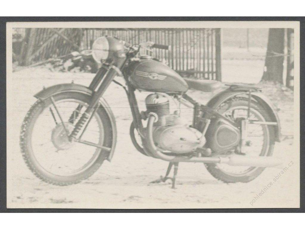 Doprava / Technika, Motorka, cca 1950