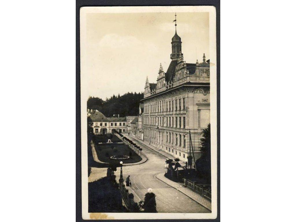 61 - Svitavsko, Litomyšl, Učitelský ústav, cca 1935