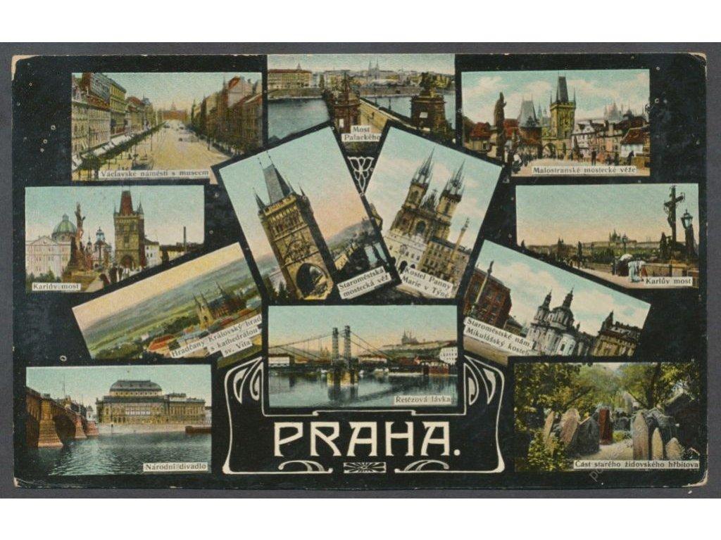 49-Praha, Partie, cca 1907