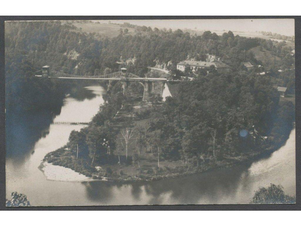 59-Sokolovsko, Partie s mostem, cca 1912