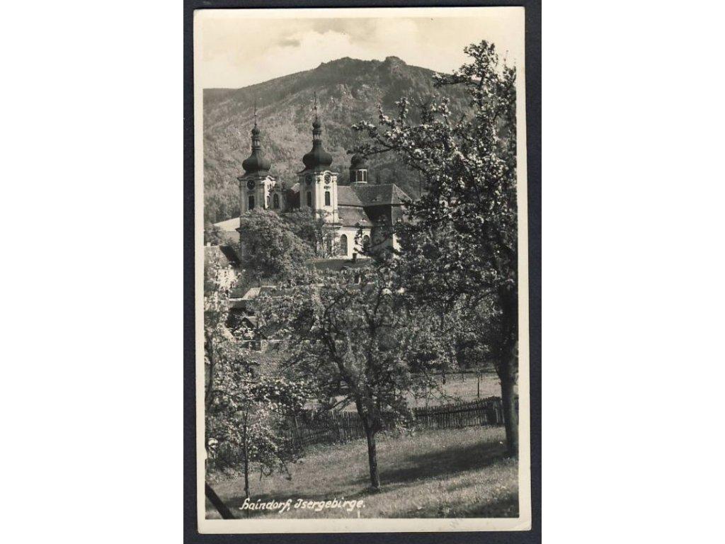32 - Liberecko, Jizerské hory, Hejnice, (Isergebirge, Haindorf), foto. G. Krause, cca 1935