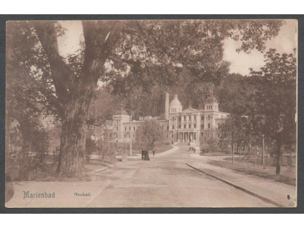 08-Chebsko, Mariánské lázně, Nové lázně, cca 1906