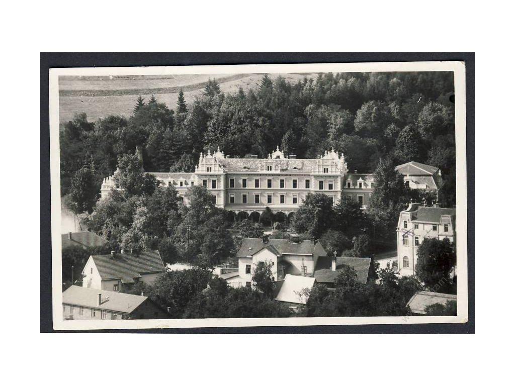 70 - Ústeckoorlicko, Brandýs n. Orlicí, léčebný ústav, grafo Čuda, cca 1925