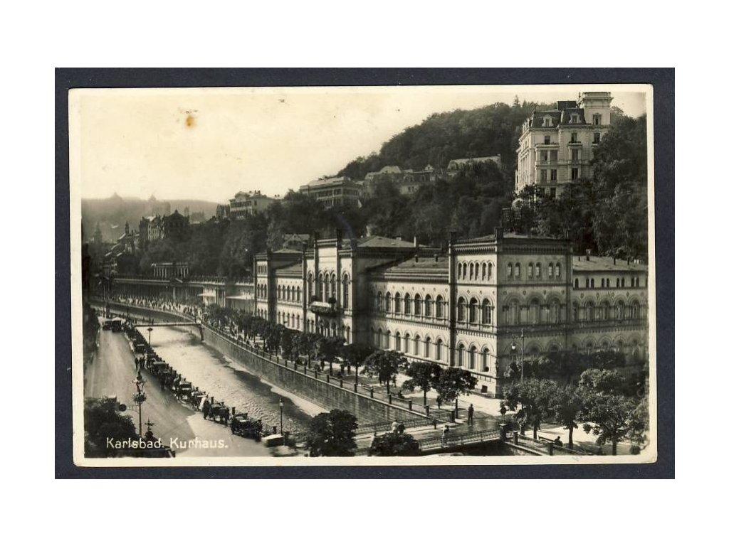 25 - Karlovy Vary, (Karlsbad), termální centrum, cca 1930