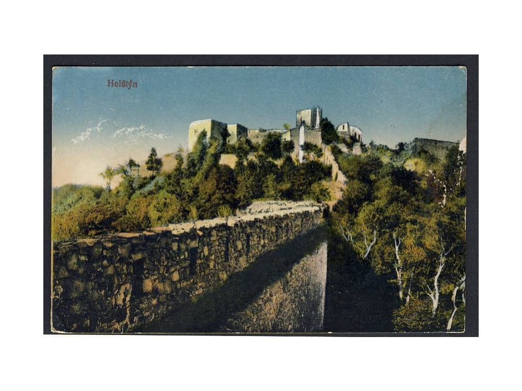 71 - Vsetínsko, hrad Helštýn, cca 1919