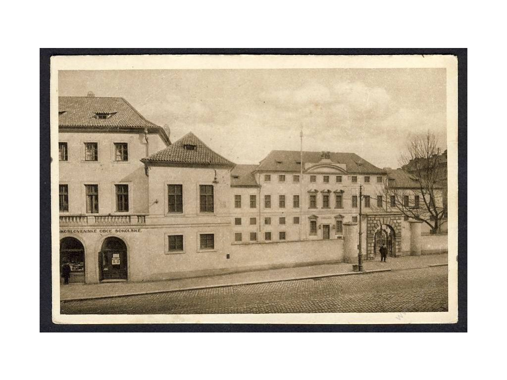 49 - Praha, Tyršův dům (Tyršhaus), cca 1921