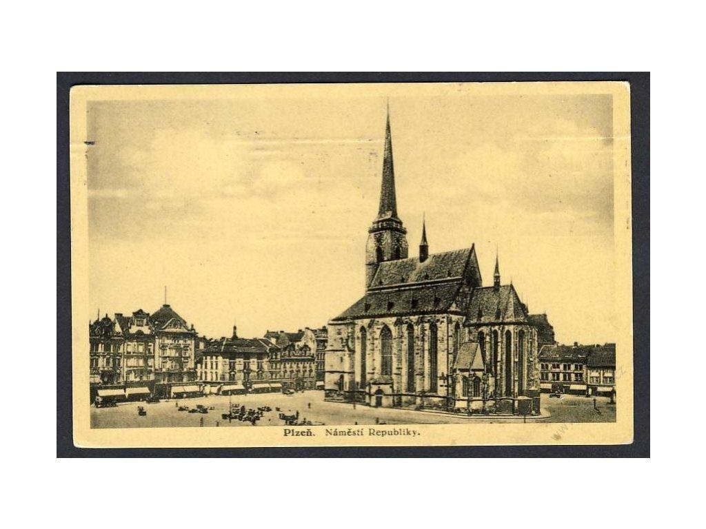 47 - Plzeň, náměstí republiky, cca 1933