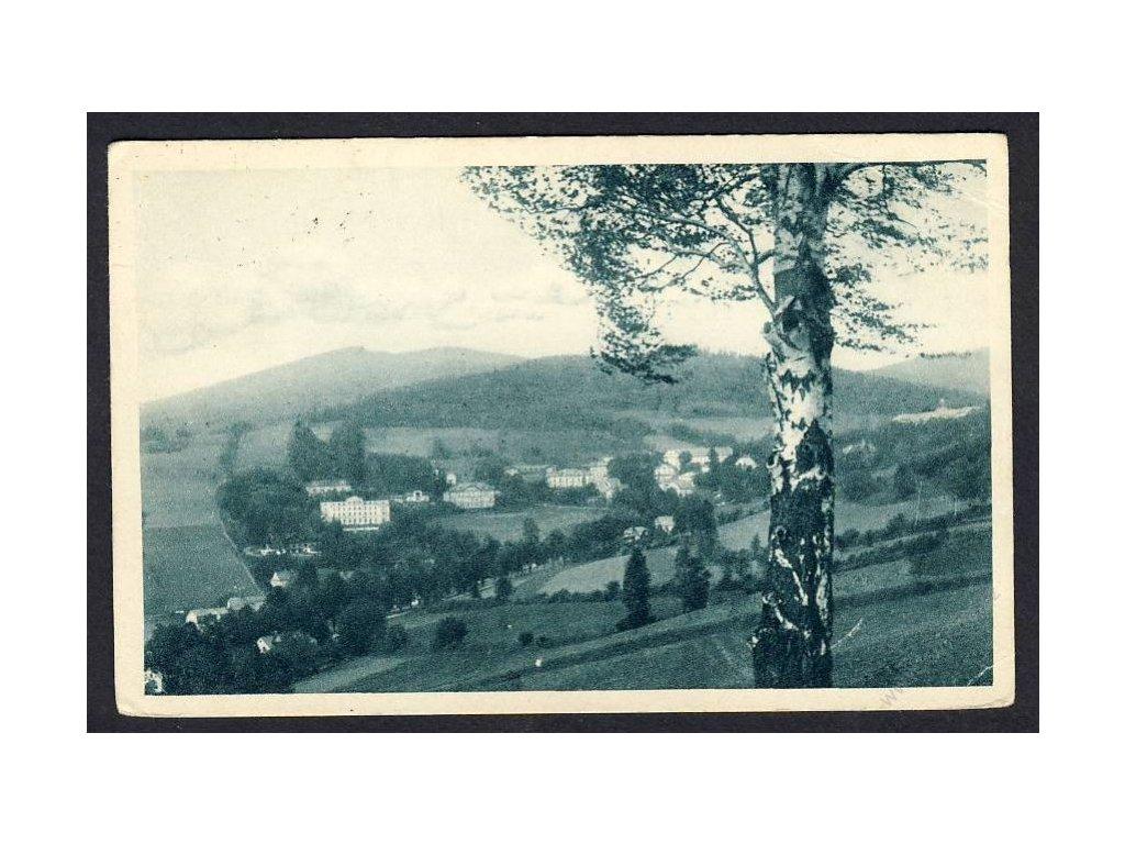 21 - Jesenicko, Gräfenberk, celkový pohled, cca 1930
