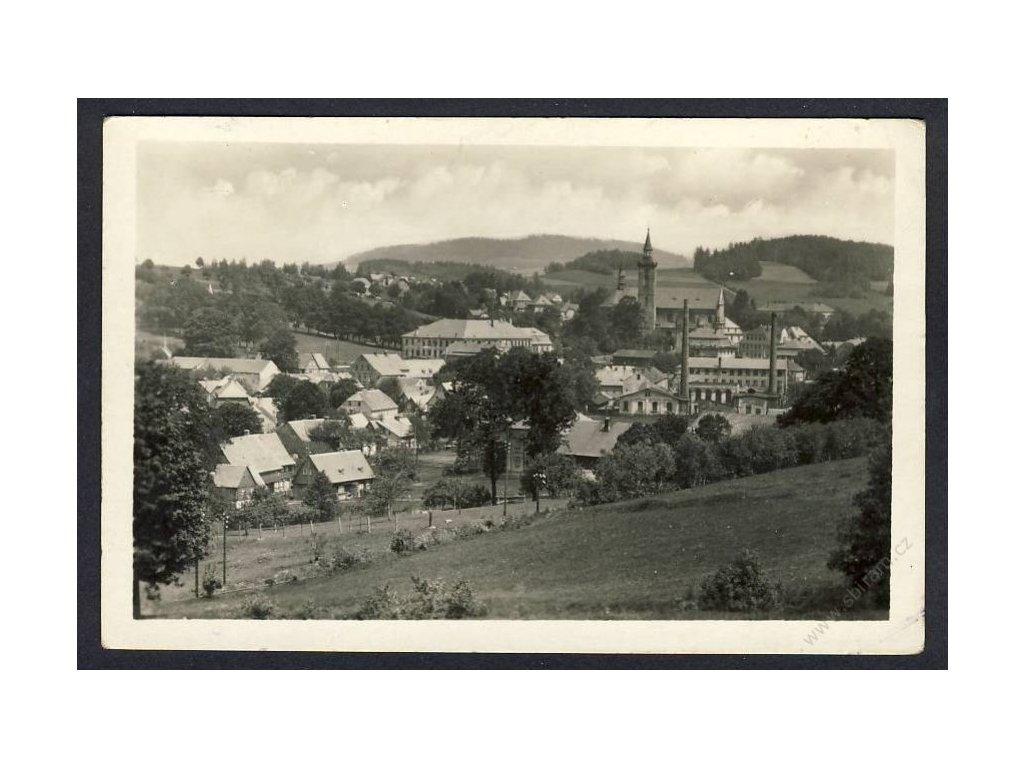 14 - Děčínsko, Mikulášovice, cca 1948
