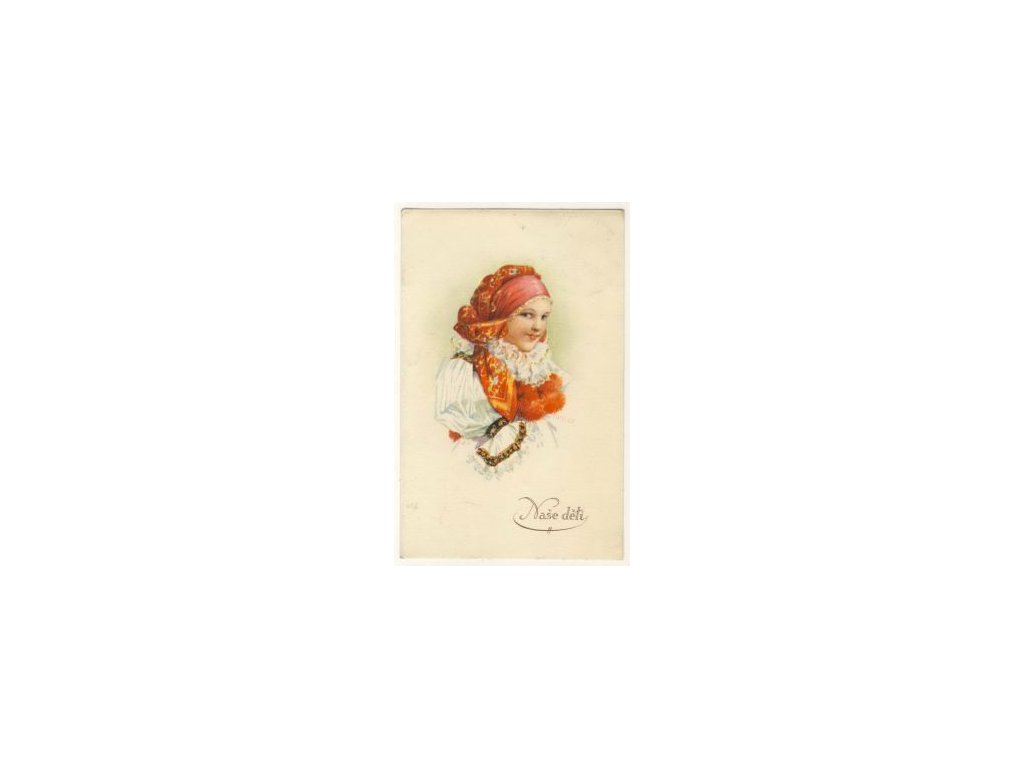Selka, ak.malíř Šimůnek, cca 1930