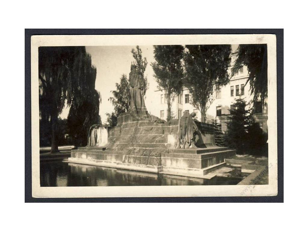 22 - Jičínsko, Hořice v Podkrkonoší (Horschitz), cca 1944