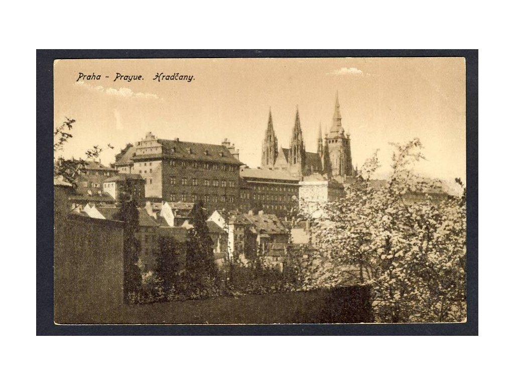 49 - Praha, (Prague), Hradčany, cca 1920