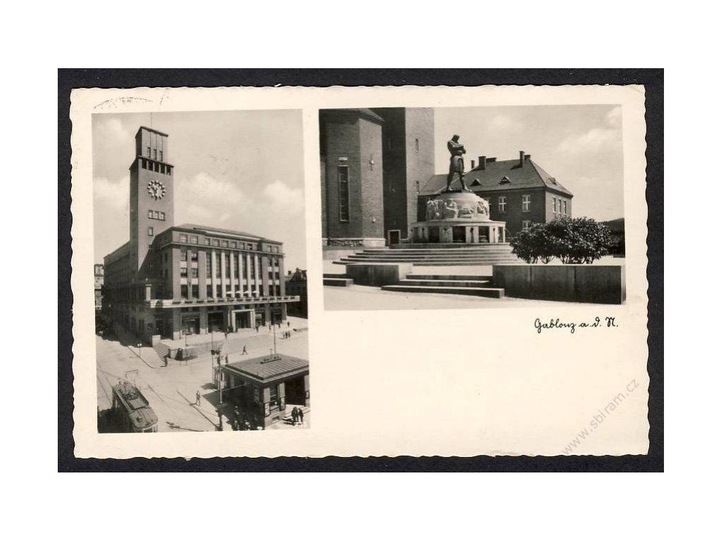 20 - Jablonec nad Nisou (Gablonz a. N.), cca 1940