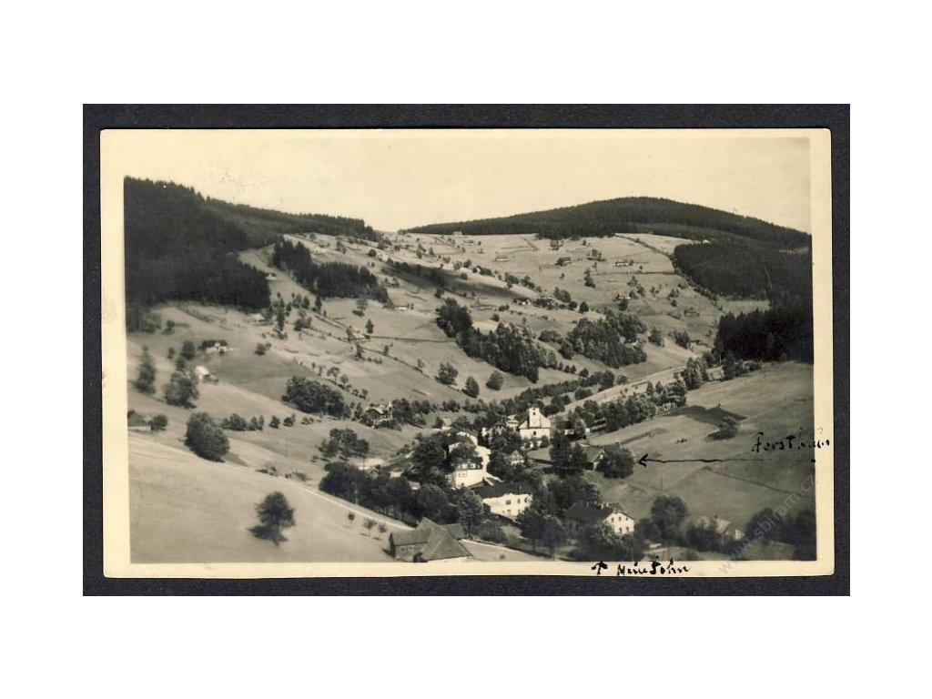 66 - Trutnovsko, Krkonoše, Velká Úpa (Gross Aupa, Riesengebirge), cca 1925