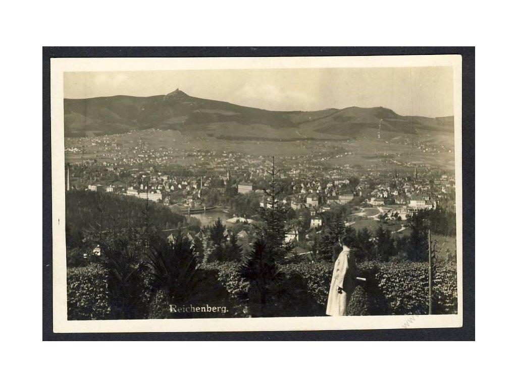 32 - Liberec (Reichenberg), pohled na město, cca 1925