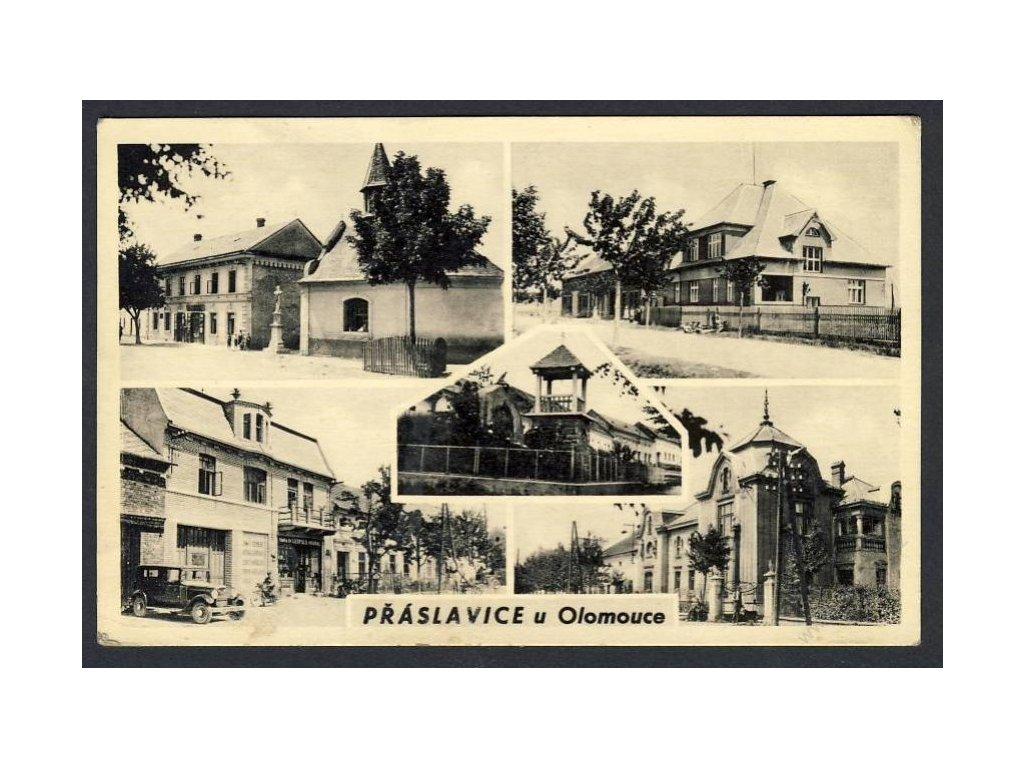 41 - Olomoucko, Přáslavice, cca 1945