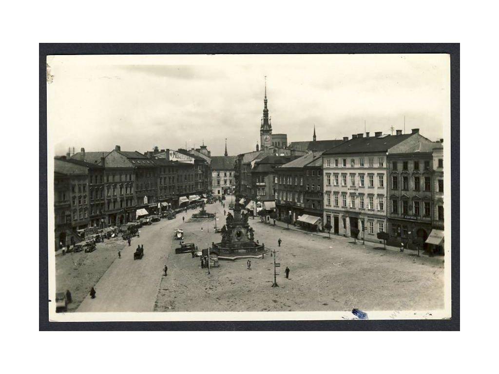 41 - Olomouc, (Olmütz), Wilsonovo náměstí (Wilsonplatz), cca 1935