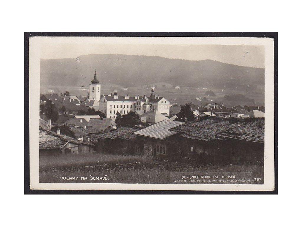 48 - Prachaticko, Volary na Šumavě, nakl. Joža Pospíchal, foto Fon, cca 1928