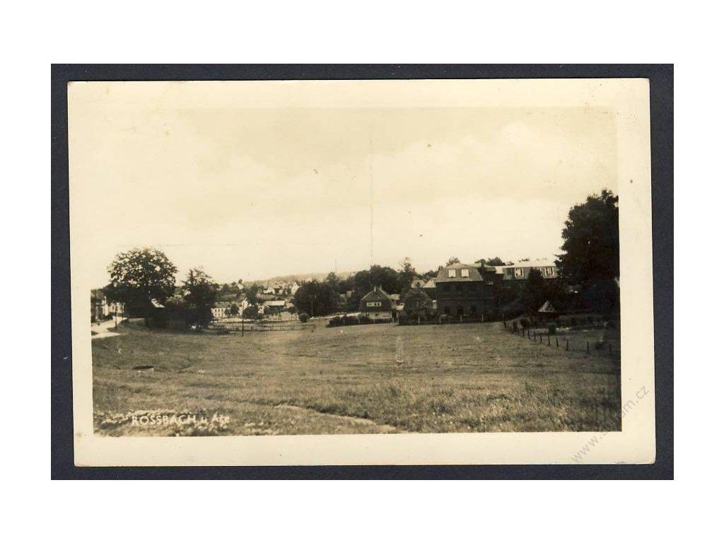 08 - Chebsko, Rossbach u Aše, foto Fon, cca 1935