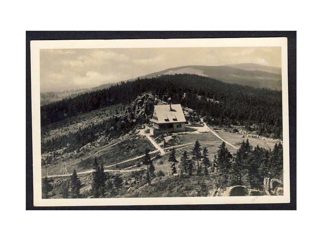 20 - Jablonecko, Velké Hamry, chata na Muchově, cca 1927