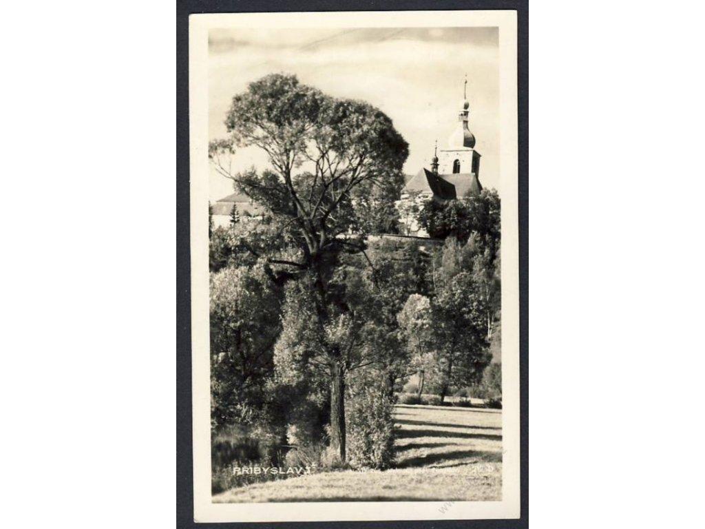 17 - Havlíčkobrodsko, Přibyslav. foto Fon, cca 1930