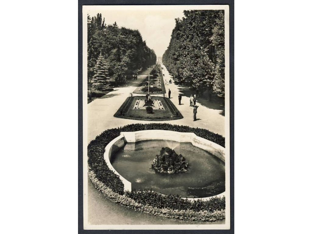41 - Olomouc, (Olmütz), Smetanovy sady (Smetanapark), cca 1925