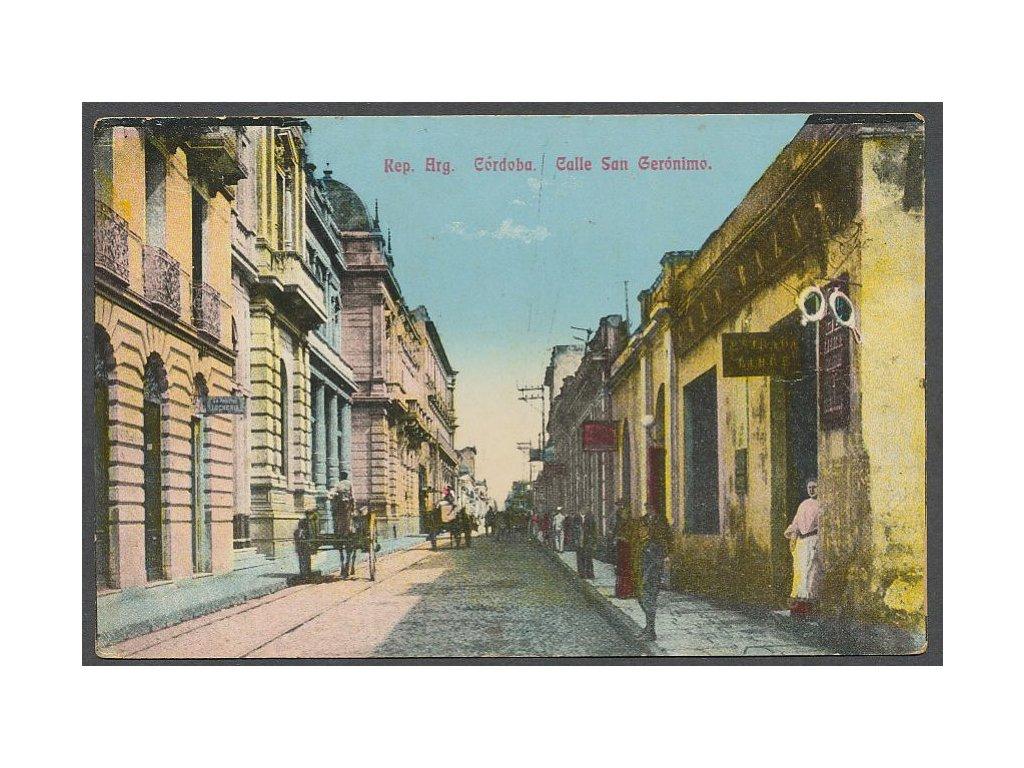 Španělsko, Córdoba, Calle San Gerónimo, ca 1910