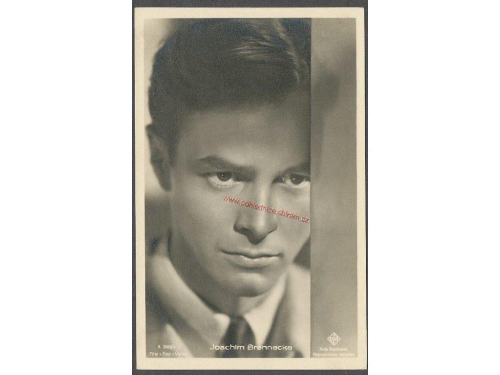 Joachim Brennecke, ca 1930