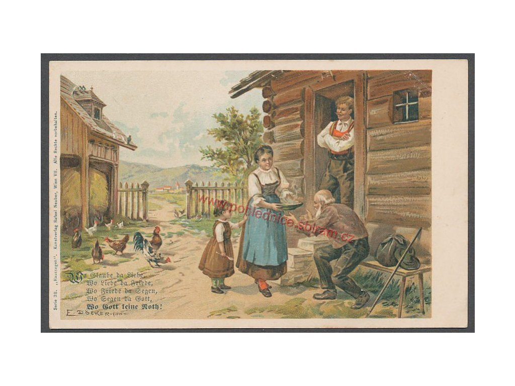 Lithografie, cca 1900