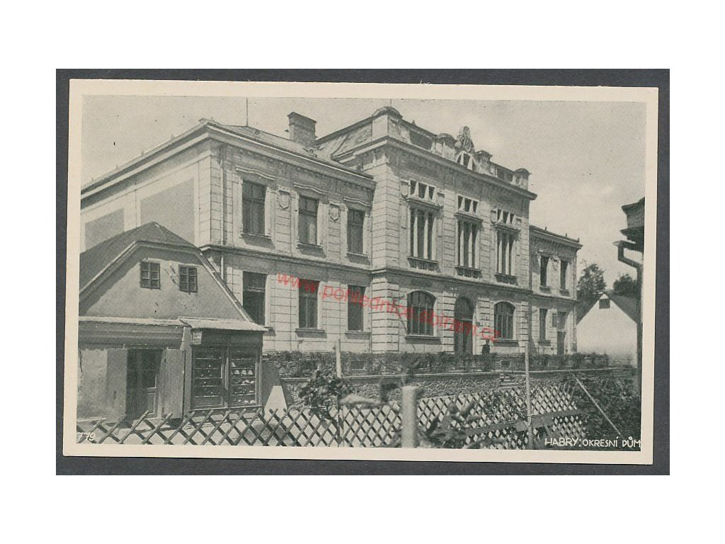 17- Havlíčkobrodsko, Habry, cca 1930