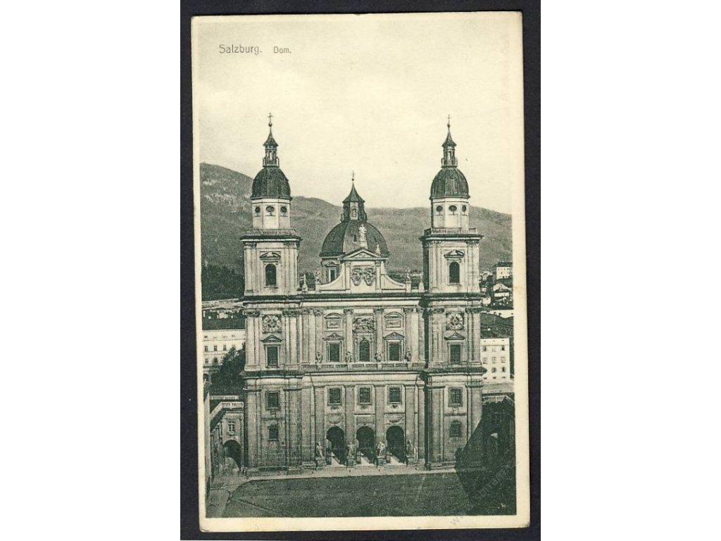Austria, Salzburg, cathedral, cca 1918