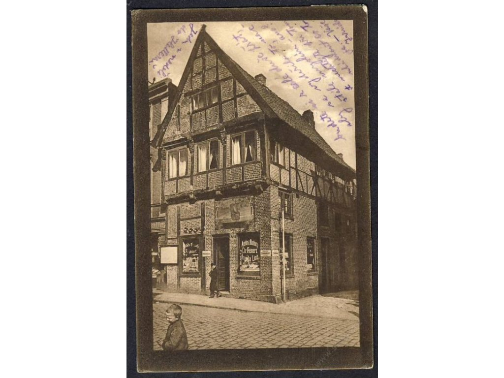 Germany, Itzehoe, Old house, cca 1920