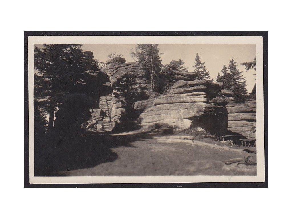 48 - Prachaticko, Třístoličník, nákl. a foto J. Wolf, cca 1925