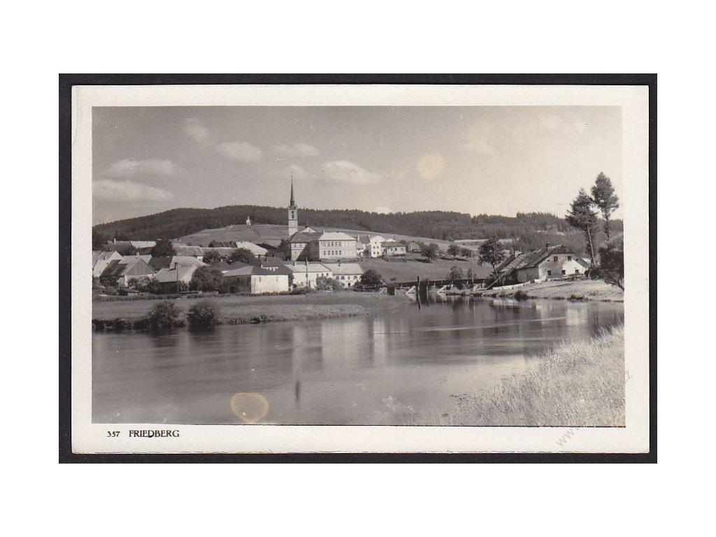 28 - Šumava, Friedberg, foto Wolf č.357, cca 1925