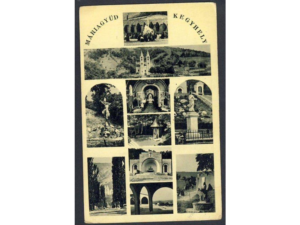 Hungary, Máriagyüd, Kegyhely, cca 1918