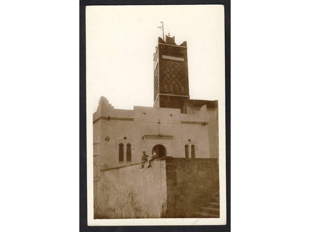 Algeria, Ain Defla Province, Miliana, La Mosquée, cca 1930